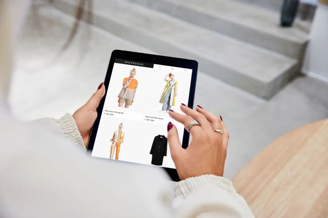 店铺案例分享丨智能零售,线上线下均打通的挪威Holzweiler线上实体品牌店!